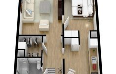 Small 1 Bedroom House Plans Fresh 40 More 1 Bedroom Home Floor Plans