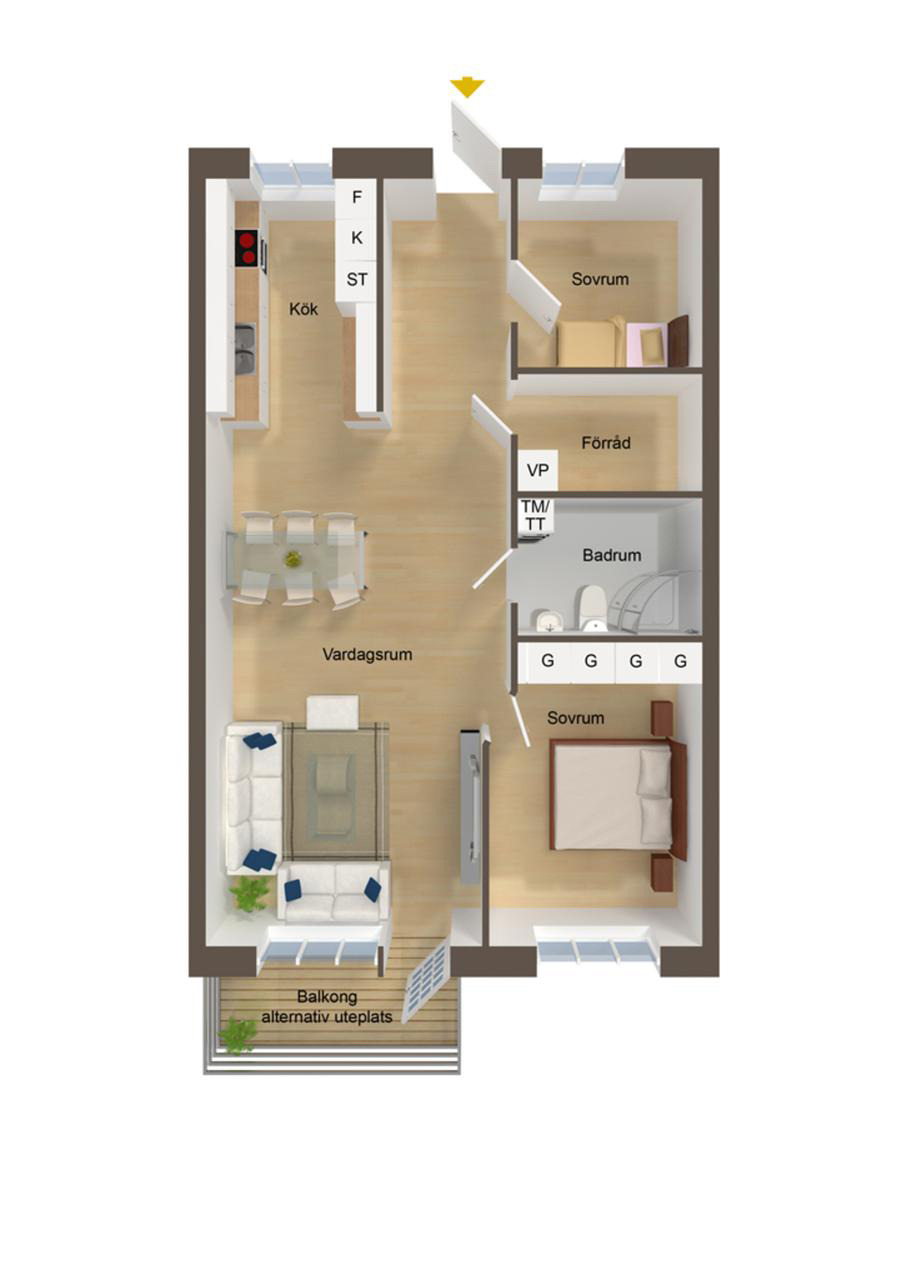 Small and Simple House Plans Beautiful 40 More 2 Bedroom Home Floor Plans