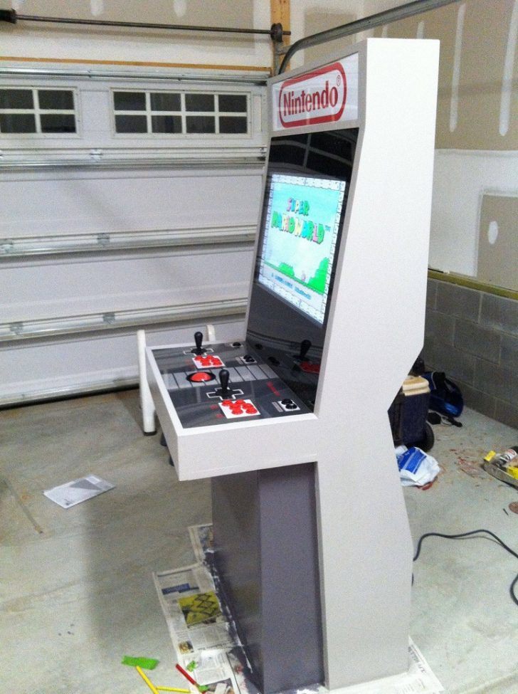 Small Arcade Cabinet Plans 2020