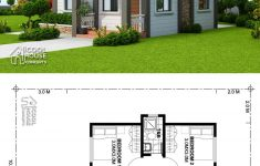 Small House Plans Bungalow Elegant Home Design Plan 10x13m With 2 Bedrooms