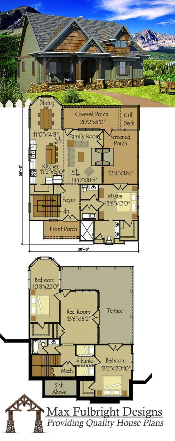 Small House Plans with Basements 2021