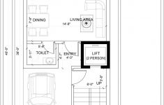 Small House Plans With Elevators Unique House Plan For A Small Space Ground Floor 2 Floors