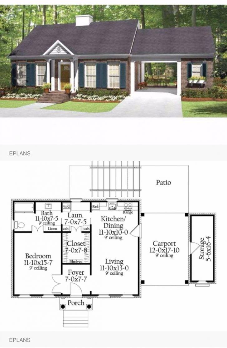 Small Metal House Plans 2020