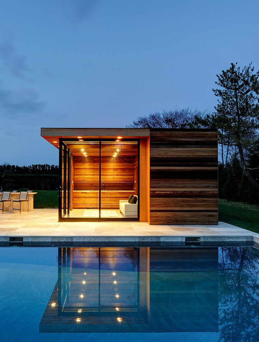 Small Modern House with Pool Elegant 25 Pool Houses to Plete Your Dream Backyard Retreat
