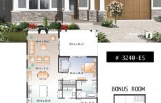 Small Open Concept House Plans New House Plan Northaven No 3240 Es
