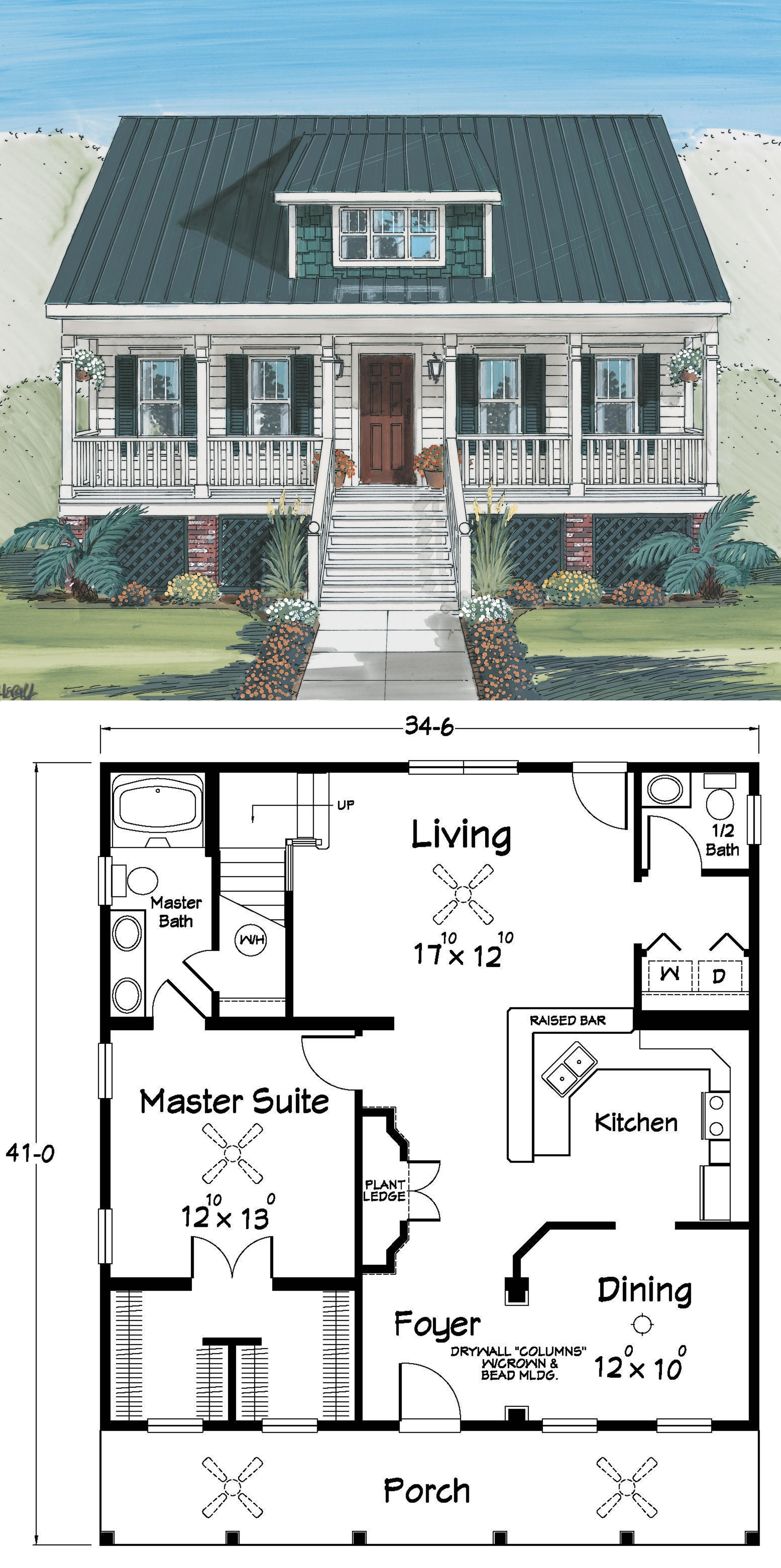 Small Stilt House Plans Luxury This is An Extremely Open Floor Plan Coastal