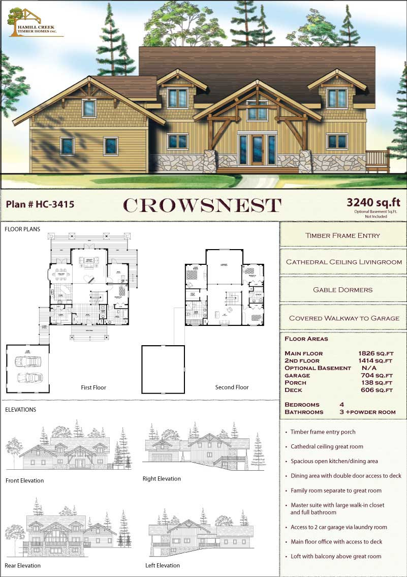 Timber Frame House Plans for Sale Fresh Timber Frame Home Plans & Designs by Hamill Creek Timber Homes