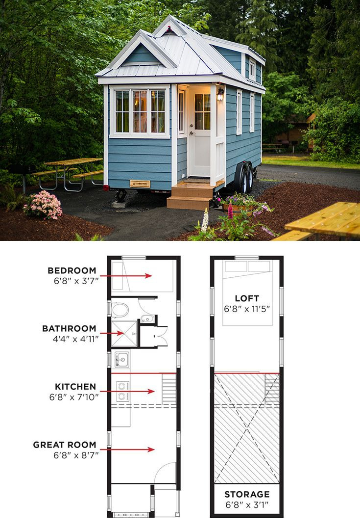 Tiny Mobile House Plans Fresh 100 Adorbs Tiny Homes In 2020