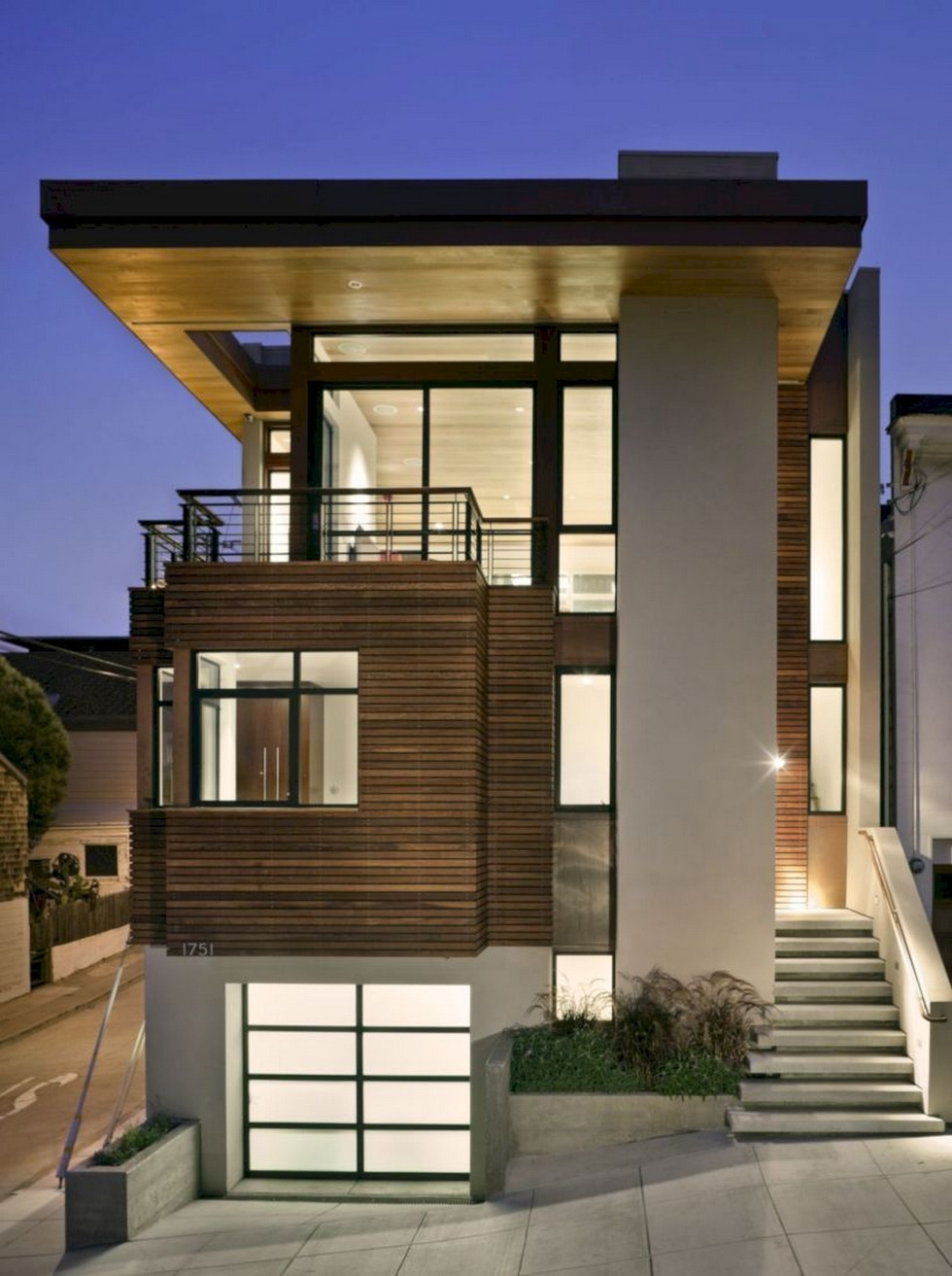 46 Awesome Modern House Design Four Cool Features 46