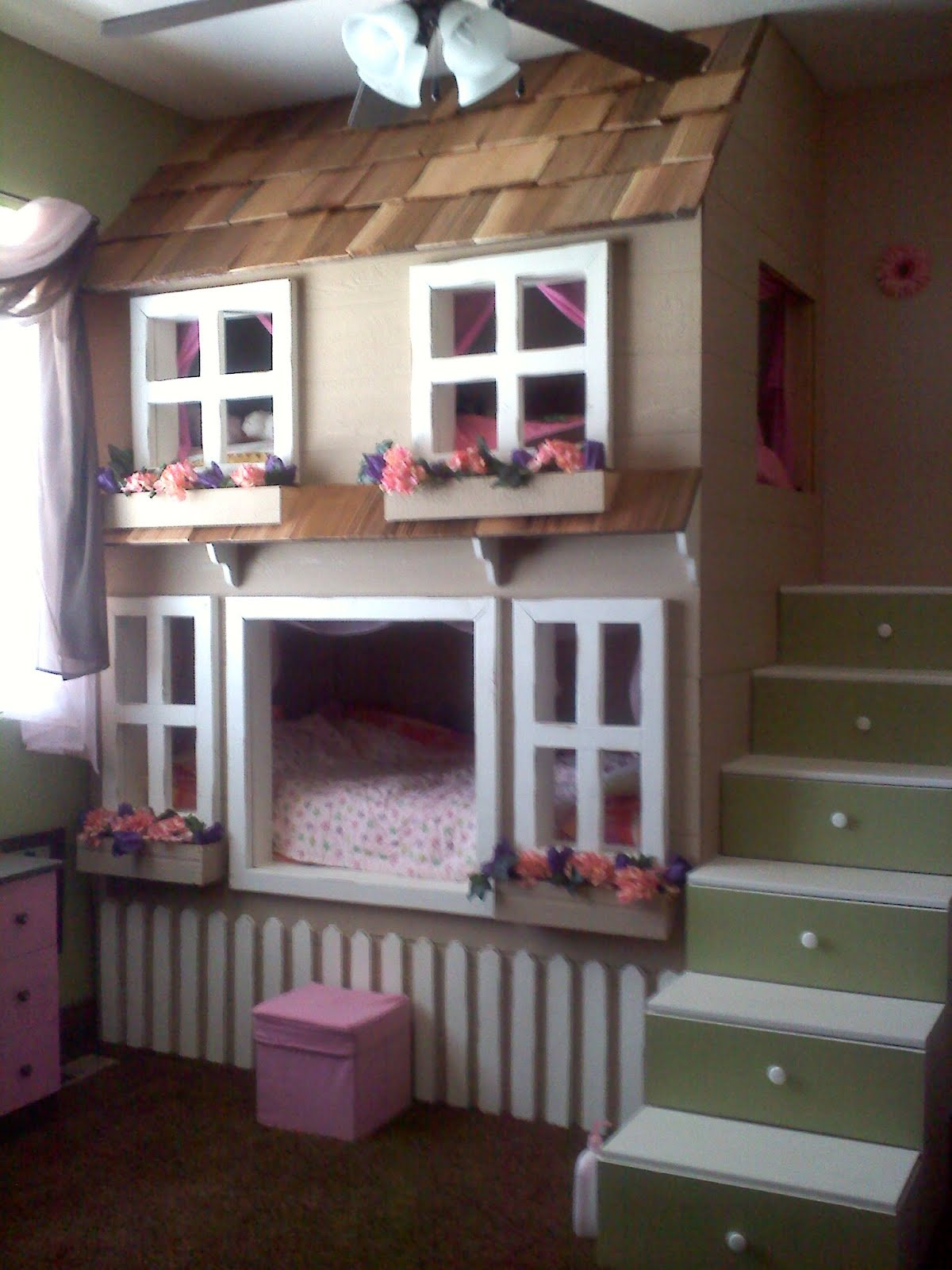 cool bunk bed girls bedroom designs tree house bunk beds for kids homesfeed d1874d79f5ba72cb