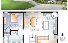 Two Bedroom Home Design Awesome Modern House Plan Layout