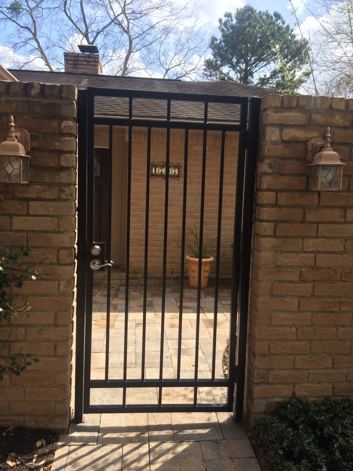Types Of Gates for Homes Beautiful Wrought Iron Gates Fence Geeks