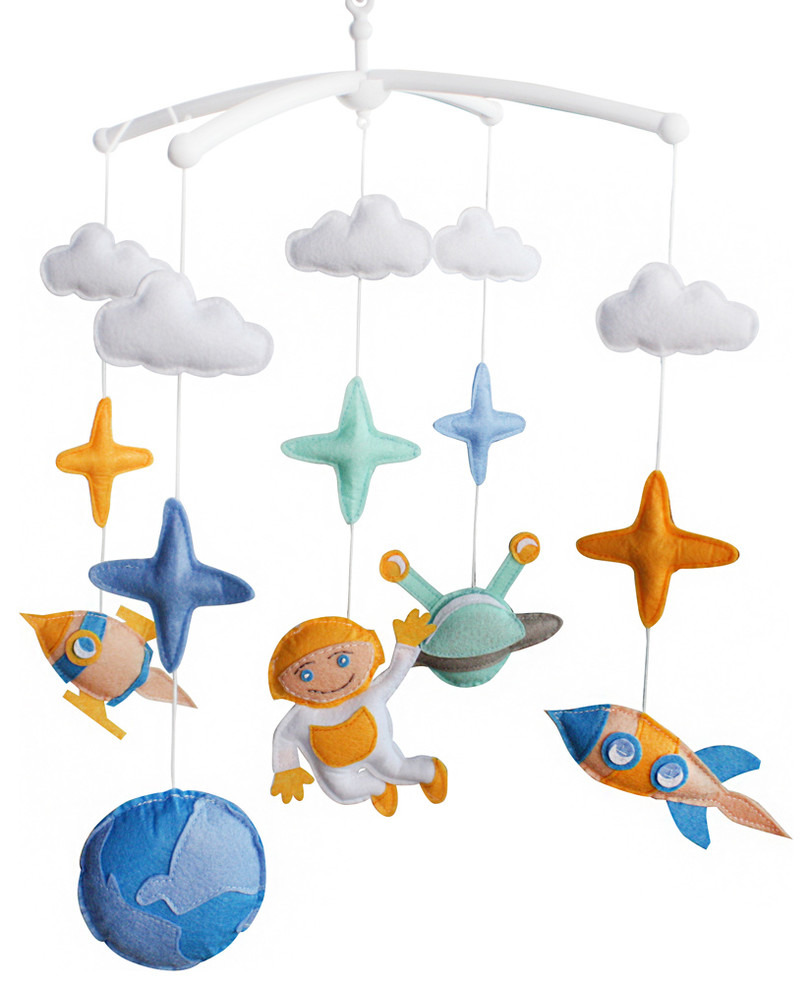 Unique Mobiles for Nursery Fresh Music Mobile for Baby Crib Unique Nursery Mobile