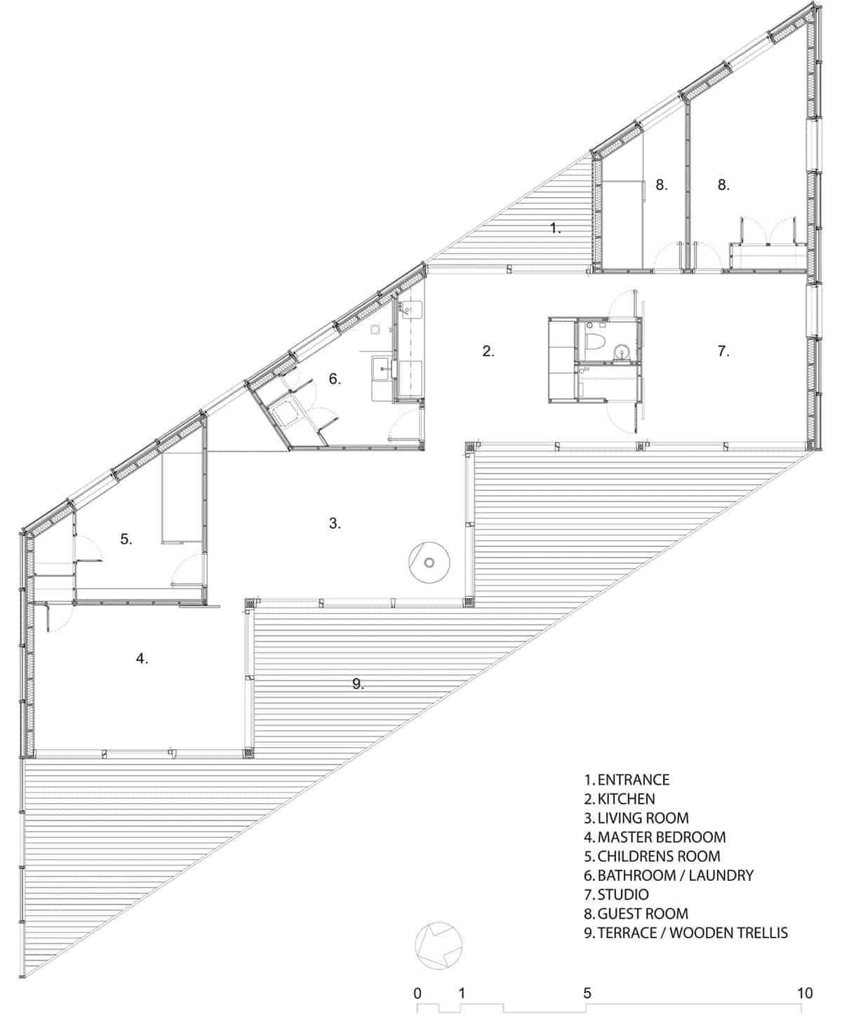 geometric house designs parallelogram 4