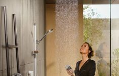 Up Flush Shower System Luxury Hansgrohe Raindance Large Hand & Overhead Showers