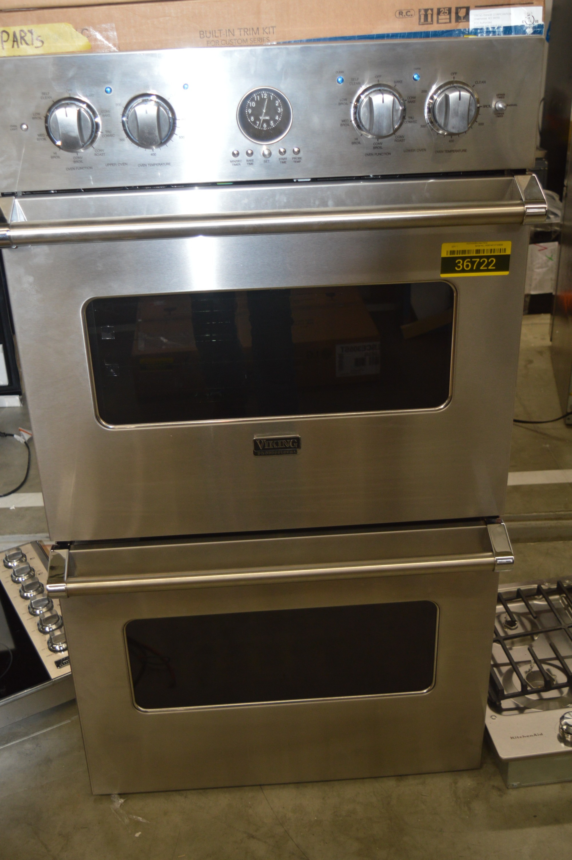 """Viking Wall Oven Microwave Combo Lovely Viking Vedo5302ss 30"""" Stainless Double Wall Oven Nob Hrt"""