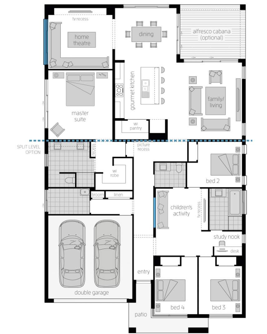 floor plan san marino 15 standard mcdonald jones homes lhs