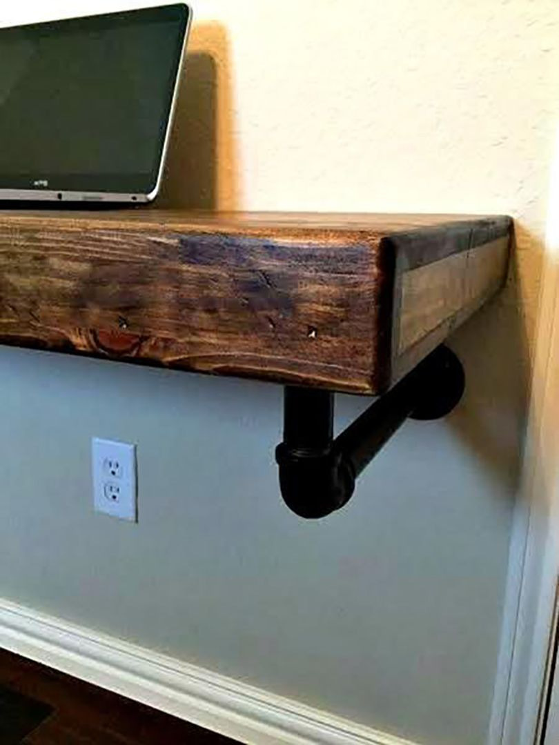 wall mounted desk 11
