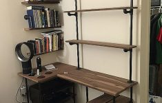 Wall Mounted Desk Canada Best Of 49 Wall Mounted Desks Built With Pipe