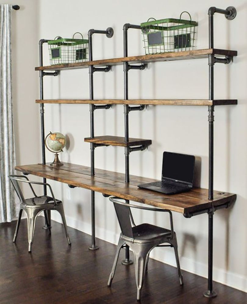 wall mounted desk 17