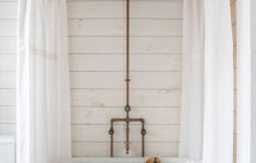 Washing Shower Curtain In Front Loader Beautiful A Diy Shower Curtain Hoop Made From Brass Pipes By Zio