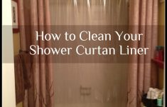 Washing Shower Curtain In Front Loader Unique How To Clean Your Plastic Shower Curtain Liner I M Working