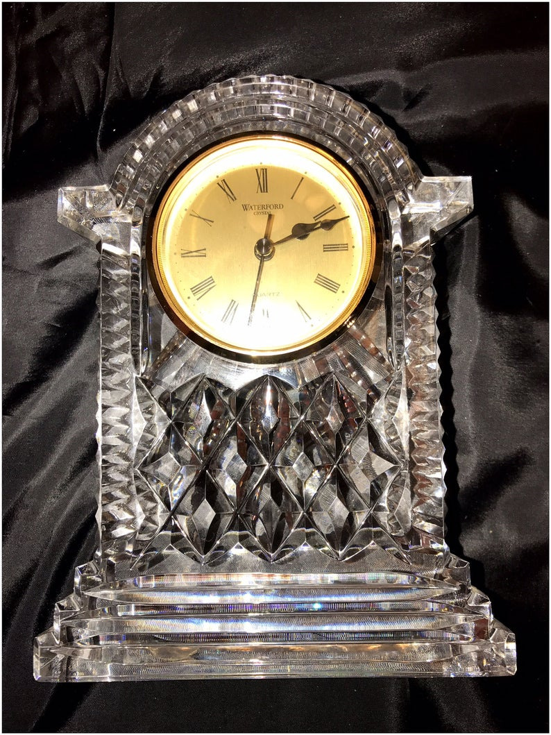 Waterford Crystal Clock Battery Inspirational Waterford Crystal Clock Vintage