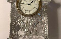 """Waterford Crystal Clocks For Sale Elegant Waterford Crystal Lismore Carriage Clock 7"""" Tall New"""