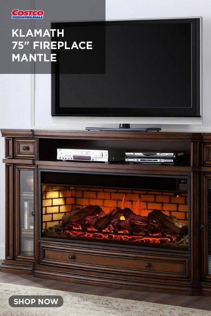 Well Universal Electric Media Fireplace 2020