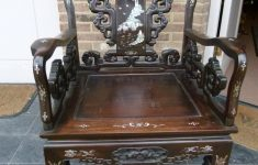 Wholesale European Antique Furniture Luxury Asiatique Armchair With Marquetry Antiques From Europe