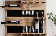 Wine Glass Racks Hanging Australia Awesome 20 Stylish Rustic Wooden Hanging Wine Rack Design Ideas