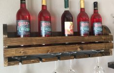 Wine Glass Racks Hanging Australia Awesome Rustic Wall Wine Shelf Glass Holder Bottle Holder