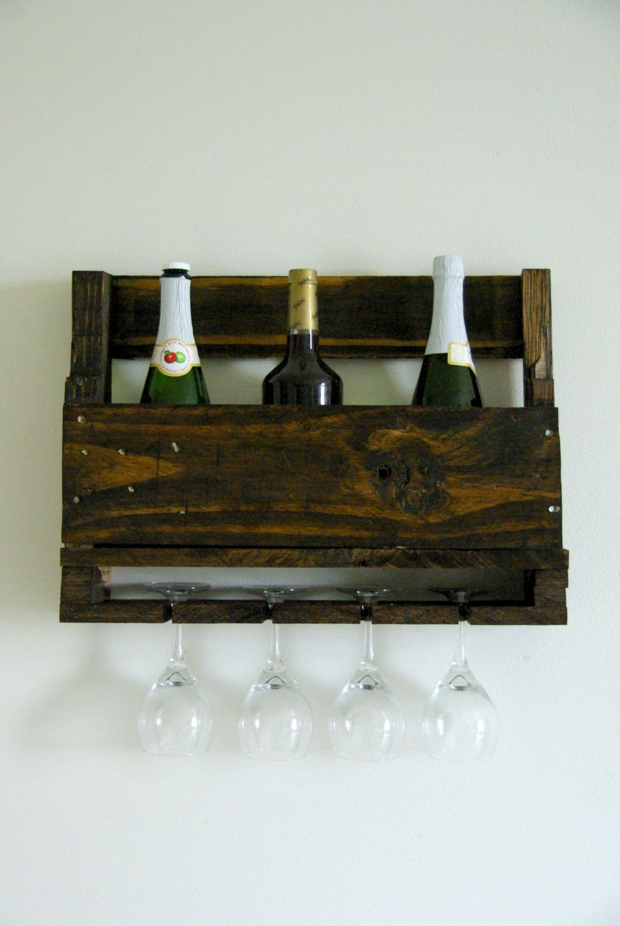 how to build a wine bottle rack