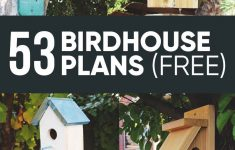 Wood Bird House Plans Unique 53 Free Diy Bird House & Bird Feeder Plans That Will Attract