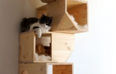 Wooden Cat House Plans New Wooden Modular Cat House