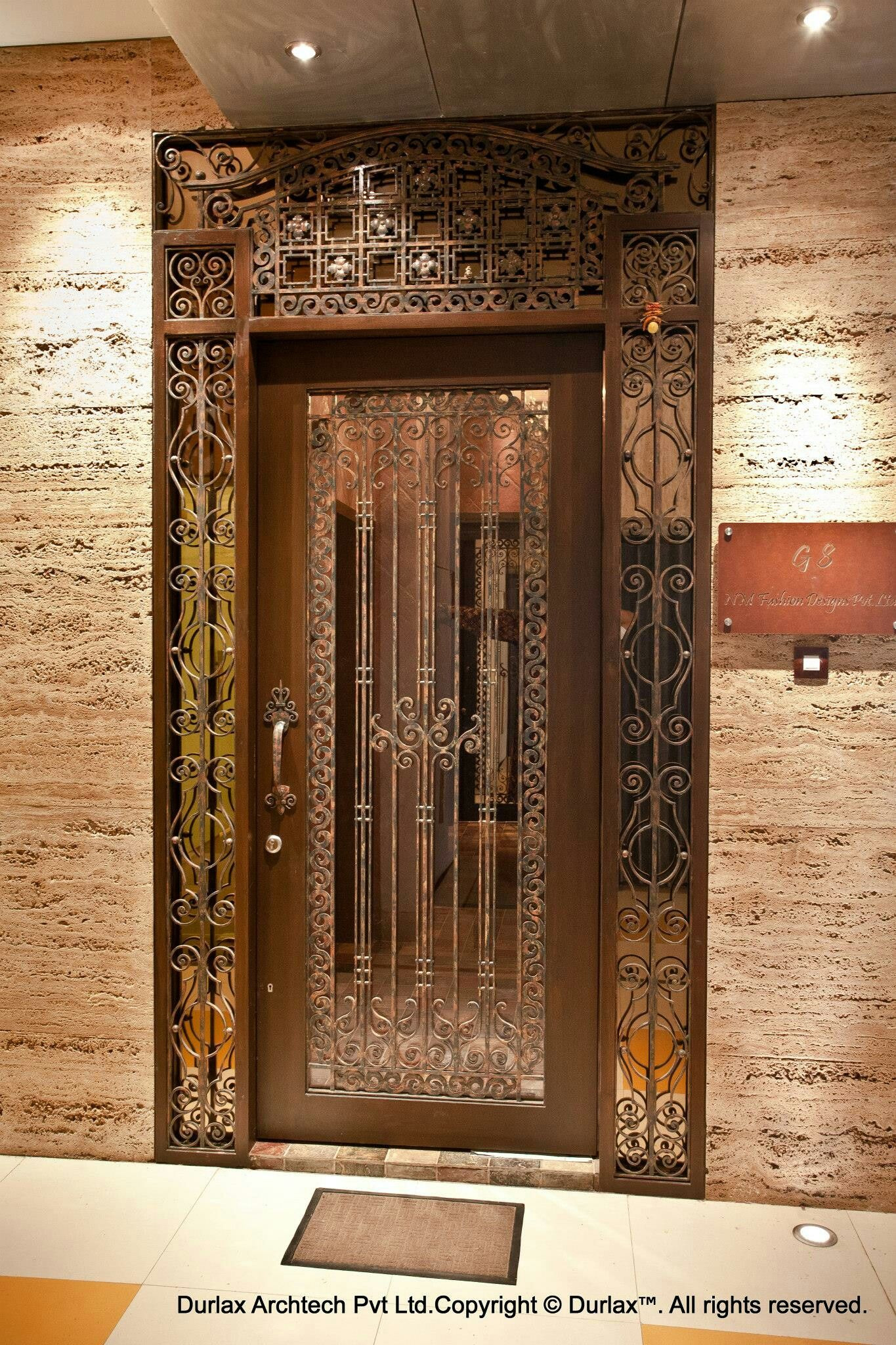 Wooden Safety Door Designs for Homes Lovely Wooden Safety Door Design for Home