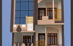 20 By 50 House Designs Lovely Smt Leela Devi House 20 X 50 1000 Sqft Floor Plan And 3d