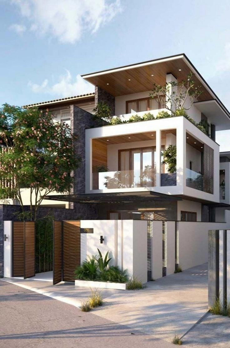 3 Storey House Design Lovely ✓41 Stunning Ideas for Beautiful House 2019 23
