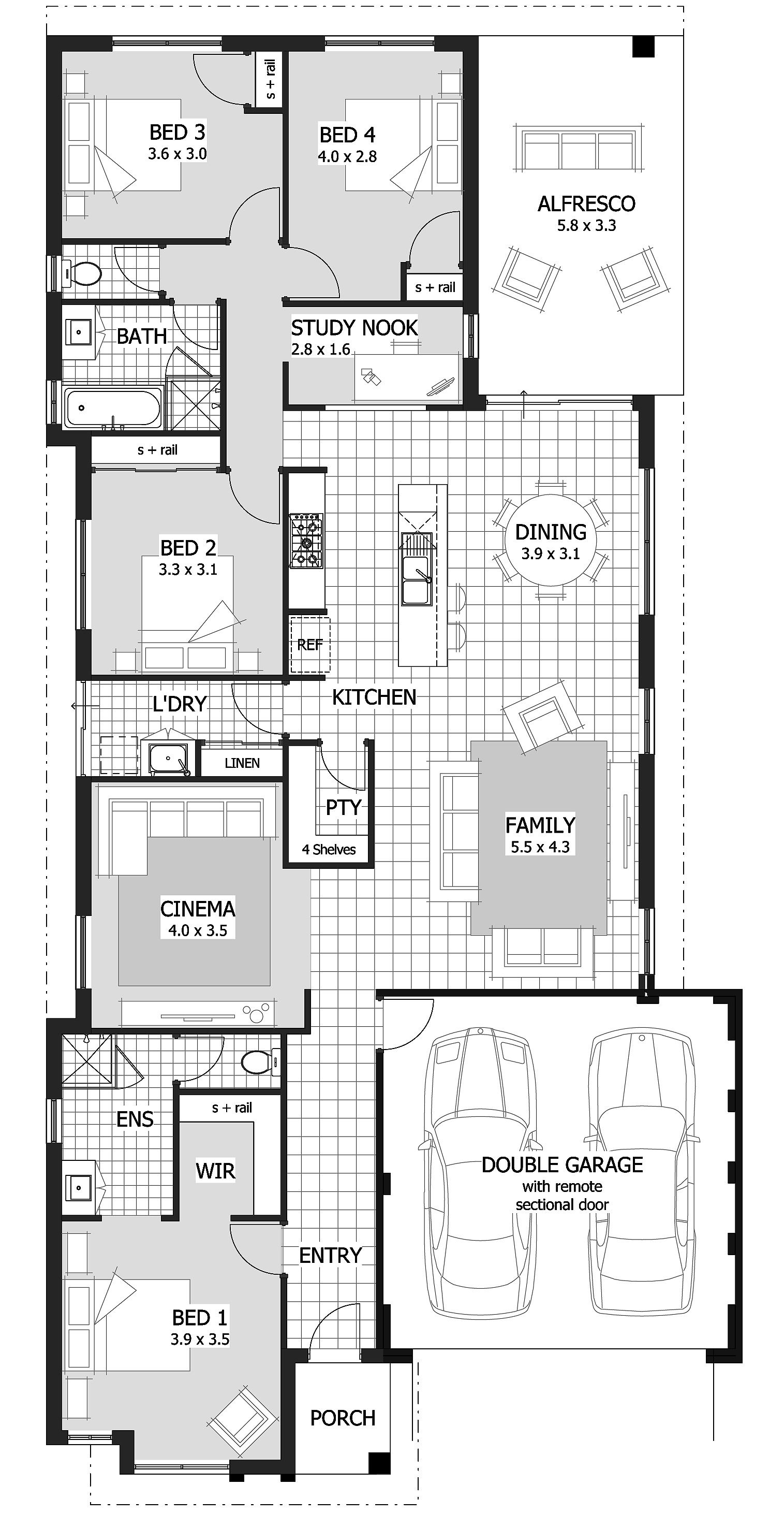 4 Bedroom House Plans Under $200 000 Awesome Home Designs Under $200 000
