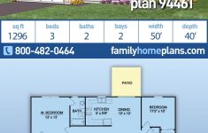 Affordable Ranch House Plans Lovely Ranch Style House Plan With 3 Bed 2 Bath 2 Car