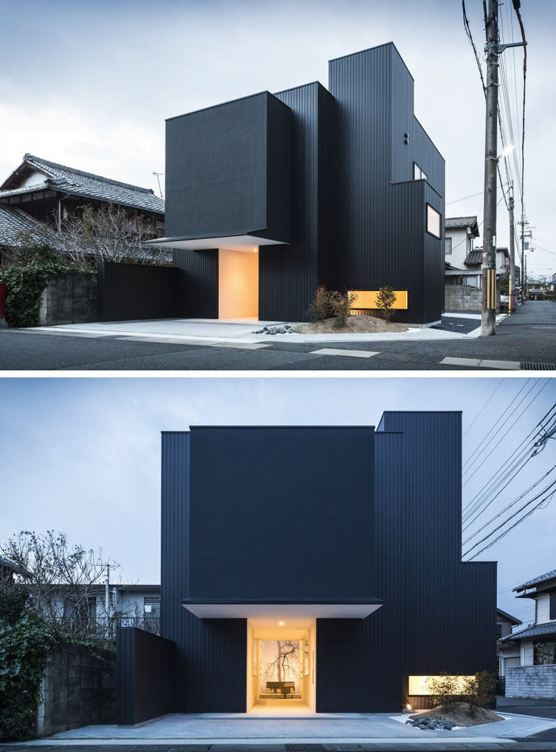 All Black Modern House Best Of House Exterior Colors – 14 Modern Black Houses From Around