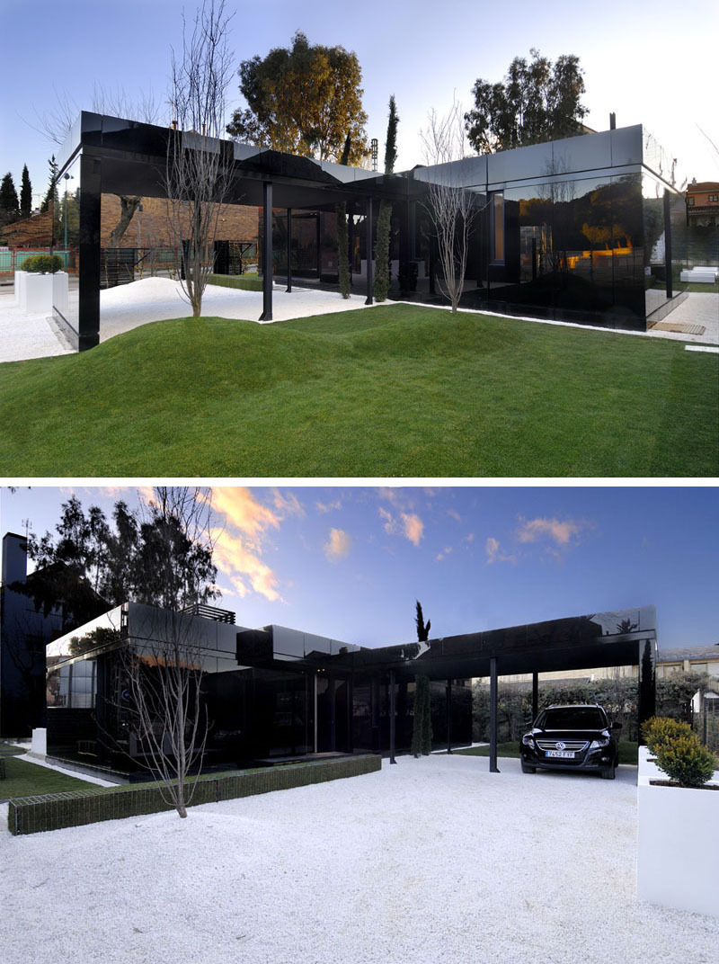 All Black Modern House Elegant 14 Examples Modern Houses with Black Exteriors