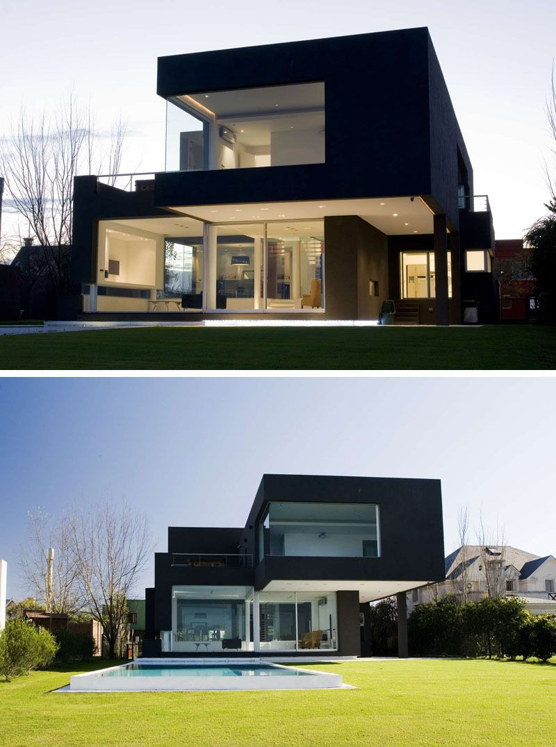 All Black Modern House Lovely House Exterior Colors – 14 Modern Black Houses From Around