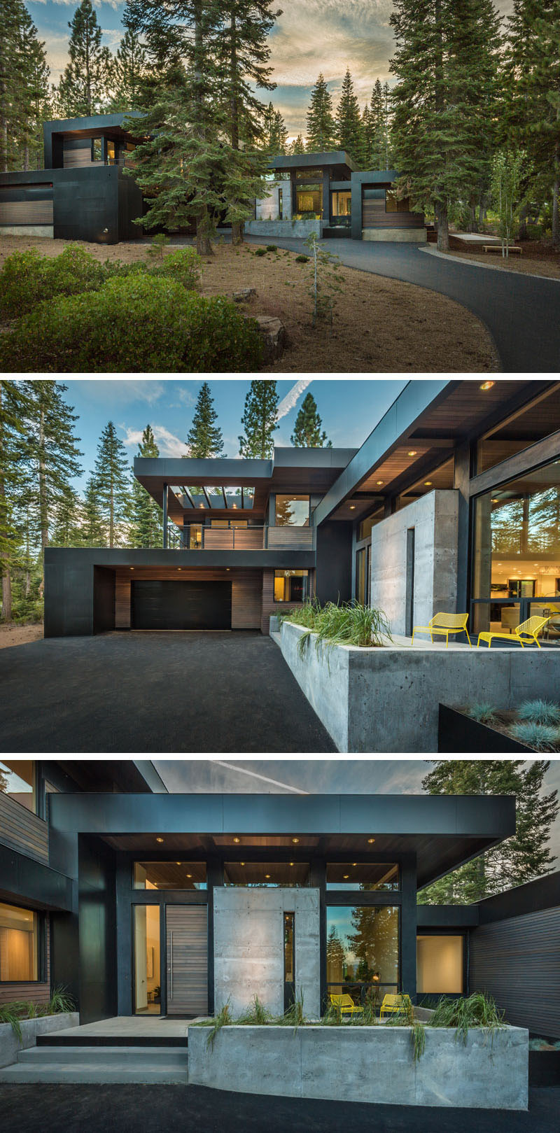All Black Modern House New 15 Modern Houses to Make You Feel at Home In the forest