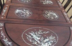 Antique Chinese Rosewood Furniture Awesome Antique Chinese Rosewood Mother Of Pearl Inlaid Table With