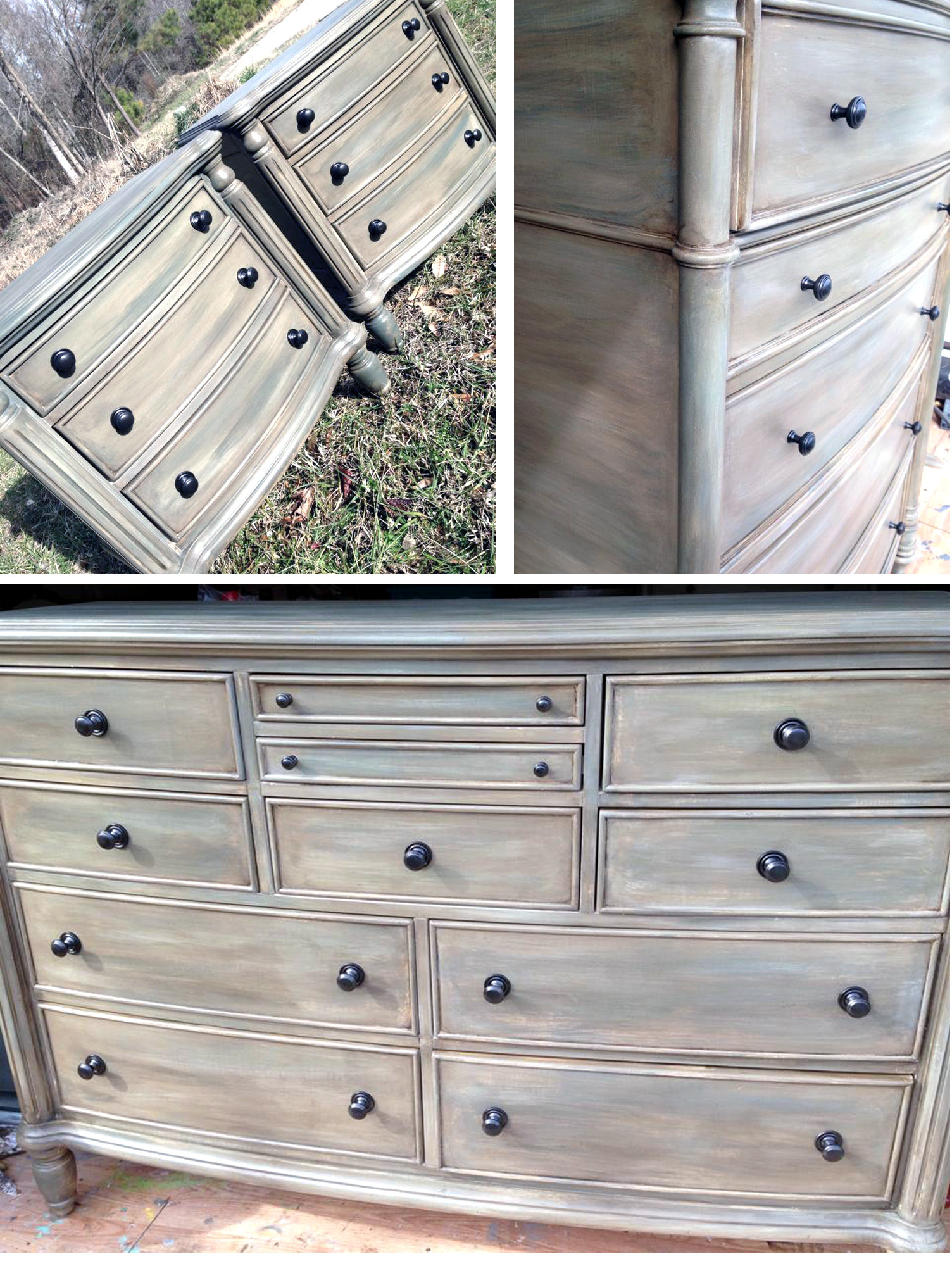 scd general finishes milk paint antique white driftwood queenstown gray walnut wood stain hp topcoat satin nightstands theresa house of krafts