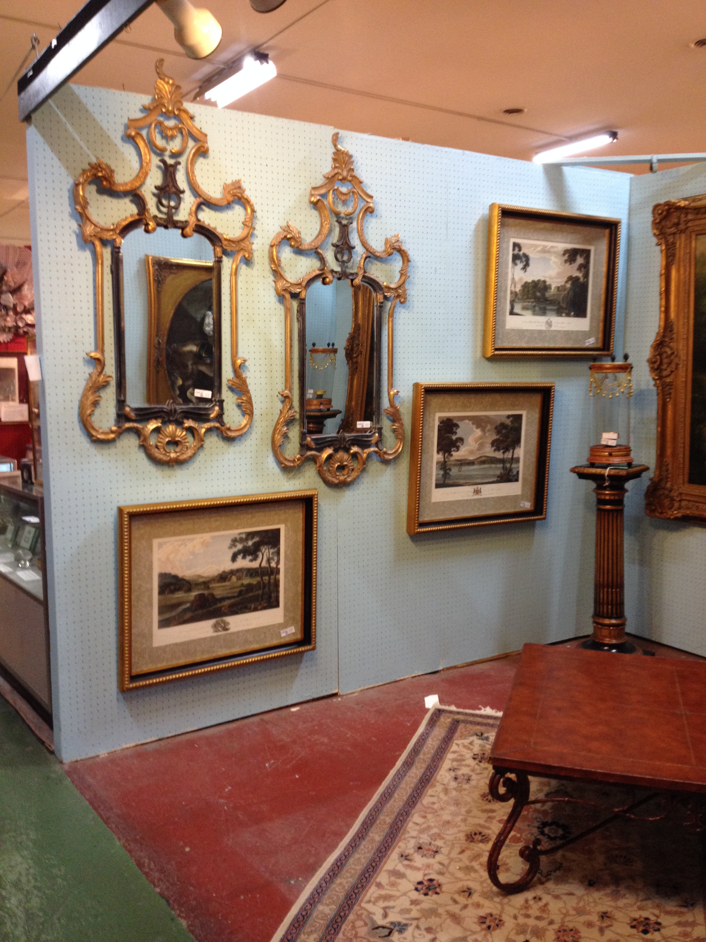 Antique Furniture Frederick Md Awesome Pedestals Painting and Chairs Oh My