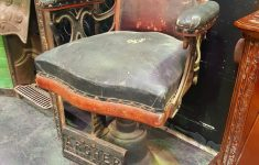 Antique Furniture Rochester Ny Fresh Vintage Shaving Chair On Cast Iron Base Marked Archer