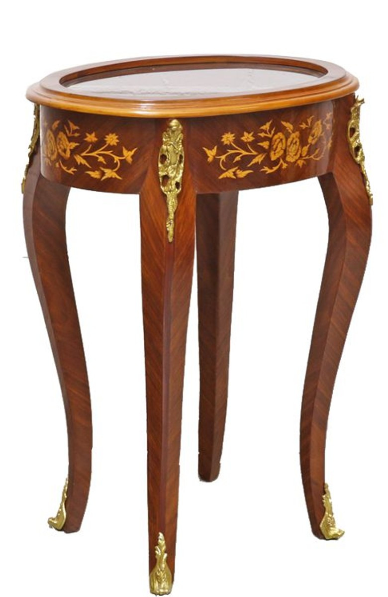 Antique Inlaid Wood Furniture Awesome Casa Padrino Baroque Side Table Mahogany Inlaid Gold H75 X 55 Cm Louis Xvi Antique Style Table Furniture