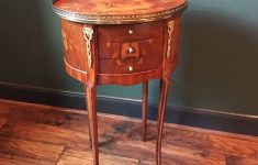 Antique Inlaid Wood Furniture Beautiful Louis Xv Marquetry Side Table French Nightstand Antique